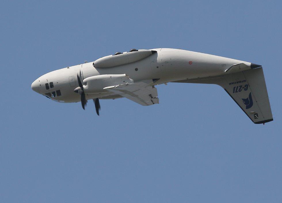 المغرب يستلم آخر طائرة  C-27J Spartan C27AtTopOfLoop