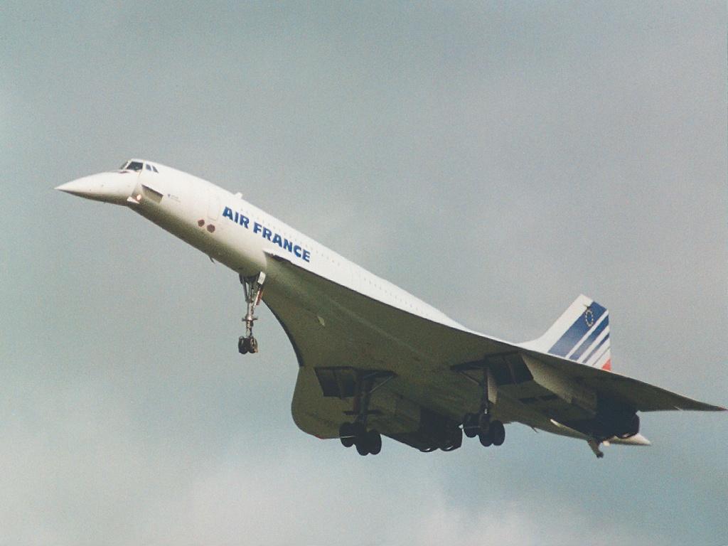 اسرع 50 طائرة في العالم AirFranceConcorde