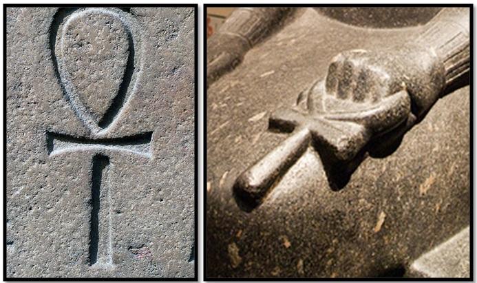 "Unexplained Mystical Structure: Egyptian ""Ankh Cross"" Temple―Built By The Aztecs? Ankh-cross-egypt"