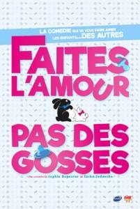Faites l'amour, pas des gosses ! Café théâtre le rideau rouge à Lyon FAPDG_affiche_neutre_web-201x300