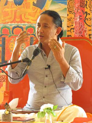 Imaginez la vie sans attachement  Dzigar-Kongtrul-Rinpoche