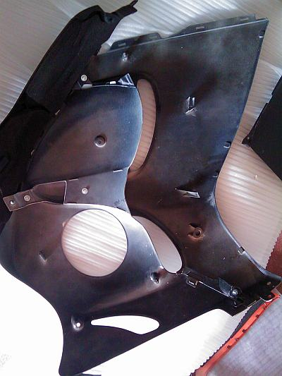 My new Auctmarts aftermarket fairing for Suzuki Hayabusa GEN II. Not_heatprotekt