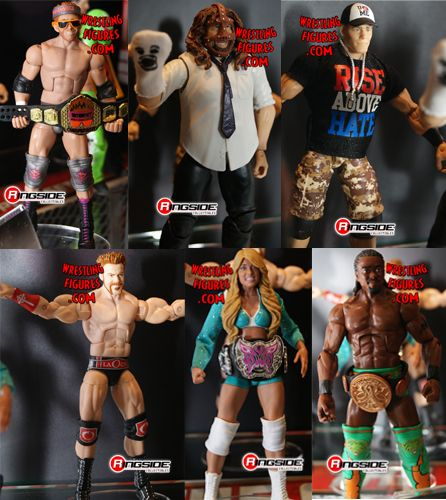 Elite 17 Series: 1st Diva Elite Kelly Kelly, Ryder w/ Internet Title, Mankind etc Elite17_set