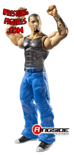 Basic 23 Prototype Images: Alicia Fox, Kane, Hunico, HHH, Mysterio, and Santino. Mfa23_hunico
