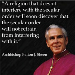 The United States of the Solar System, A.D. 2133 (Book Six) - Page 3 Archbishop_sheen2
