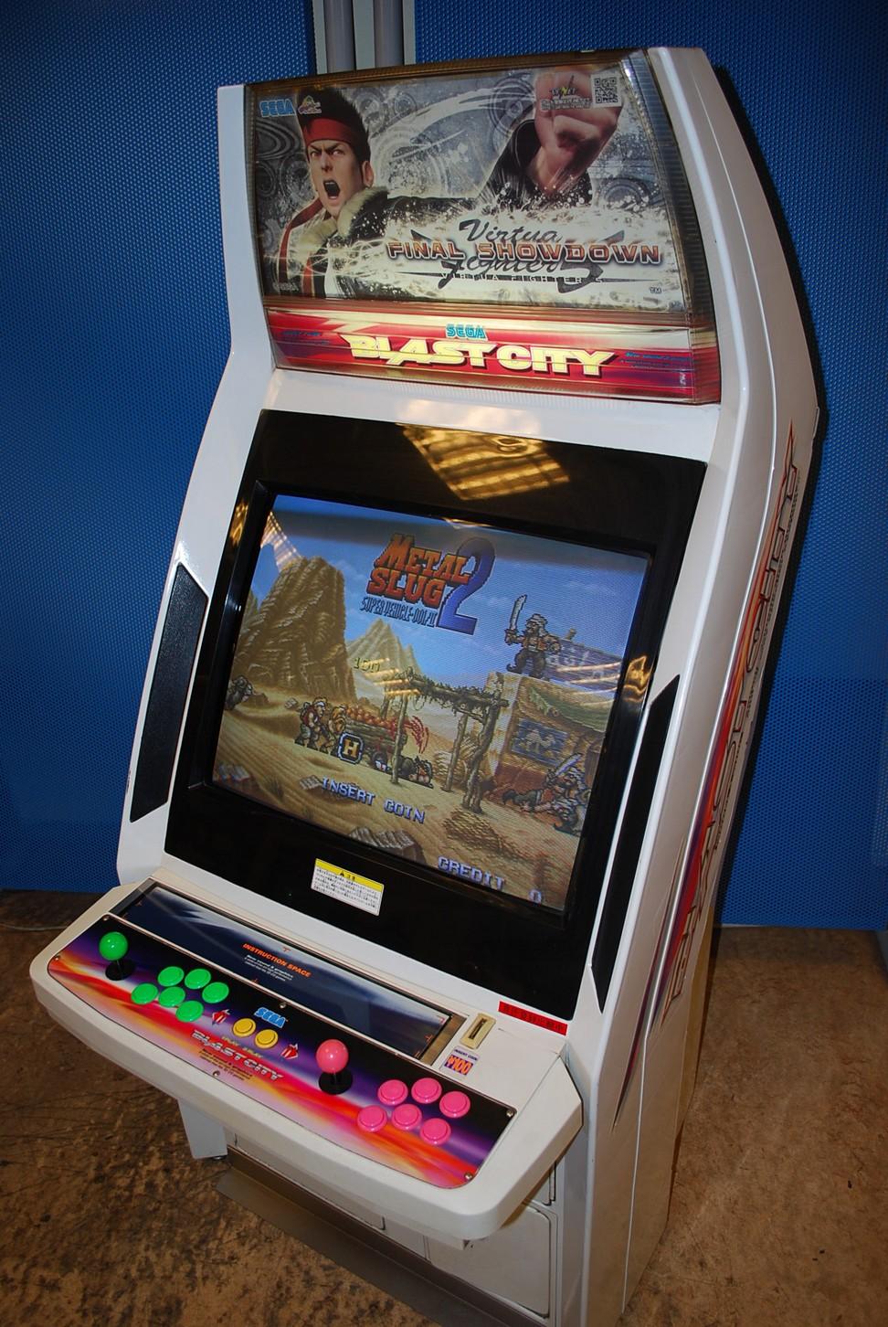 [For Sale] Sega Blast City Cabinet Blast%20(1)