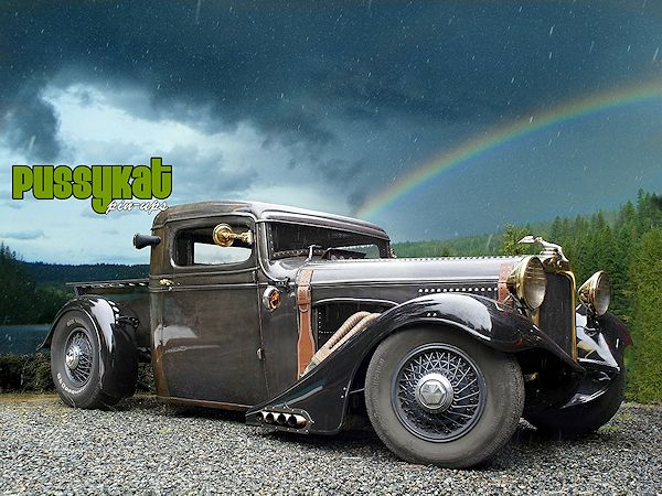 Pick-ups... - Page 38 Steampunk-rat-rod-0