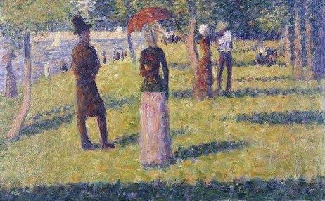 Georges-Pierre Seurat, (1859 - 1891) Seurat08150417