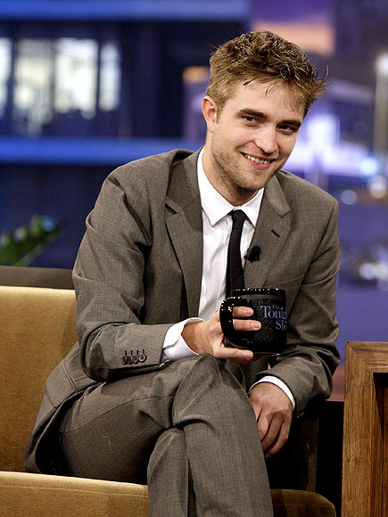 Robert Pattinson, semplicemente ROB Rob-on-jay-leno-39