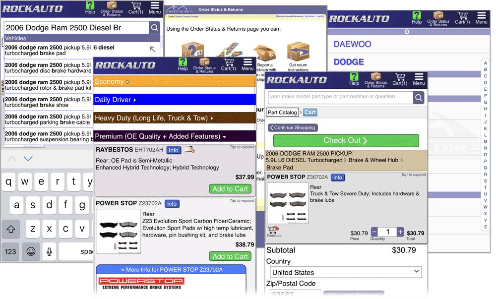RockAuto.com Goes Mobile! Forum8_17