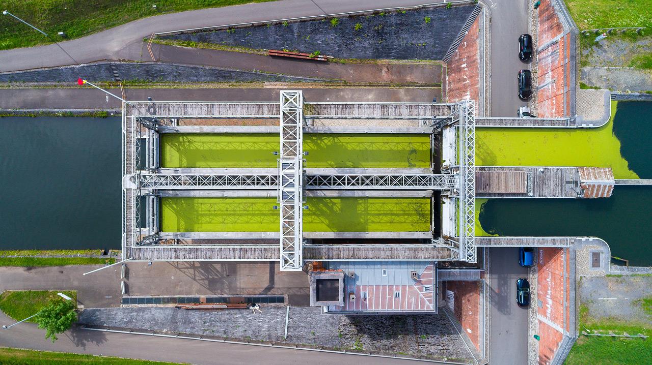 Sortie Ascenseurs canal du centre : Photos DJI_0218