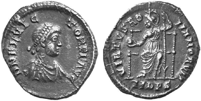 كيف نعرف ضرب او سك العمله للمدن الرومانيه FlaviusVictor
