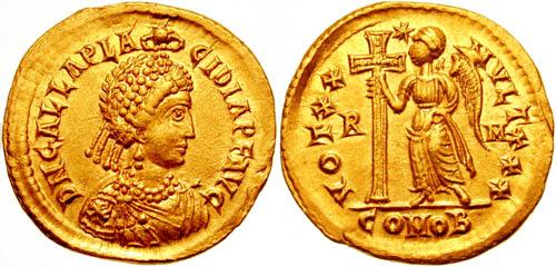 كيف نعرف ضرب او سك العمله للمدن الرومانيه GallaPlacidia2002
