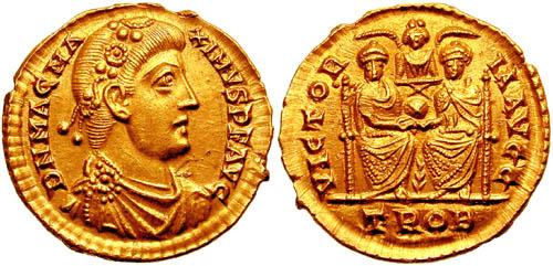 كيف نعرف ضرب او سك العمله للمدن الرومانيه MagMaximius