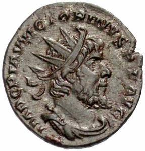 كيف نعرف ضرب او سك العمله للمدن الرومانيه Victorinus-Vs