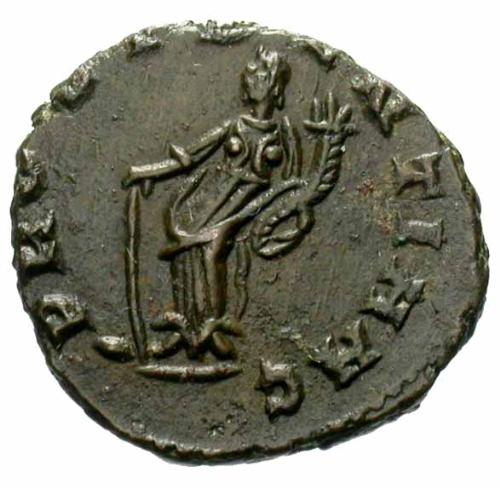 كيف نعرف ضرب او سك العمله للمدن الرومانيه Carausius-rotomagus-rs