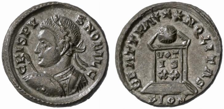 كيف نعرف ضرب او سك العمله للمدن الرومانيه H2005-mint-lon