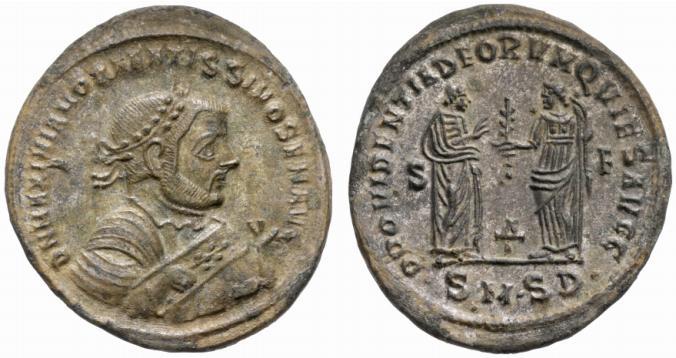 كيف نعرف ضرب او سك العمله للمدن الرومانيه H2005-mint-serd