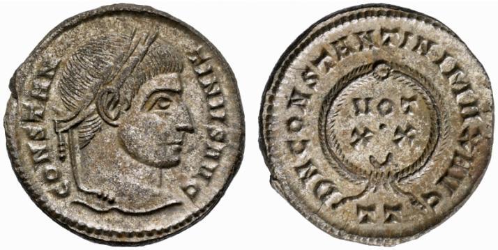 كيف نعرف ضرب او سك العمله للمدن الرومانيه H2005-mint-tt