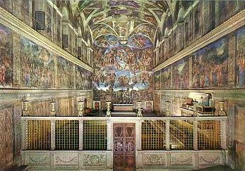 Virtualni pogled na ... Cappella-Sistina