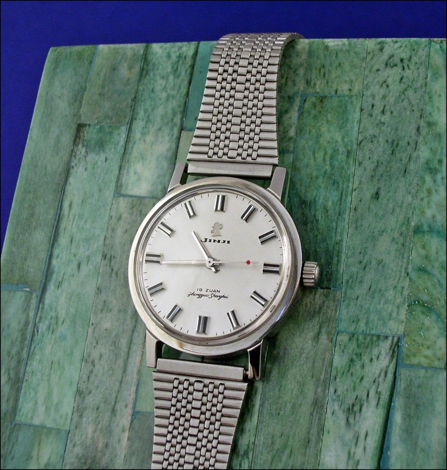 VERY inexpensive bracelet for vintage Chinese watches - Jinji nooshoos ( Jinji_bracelet1_4