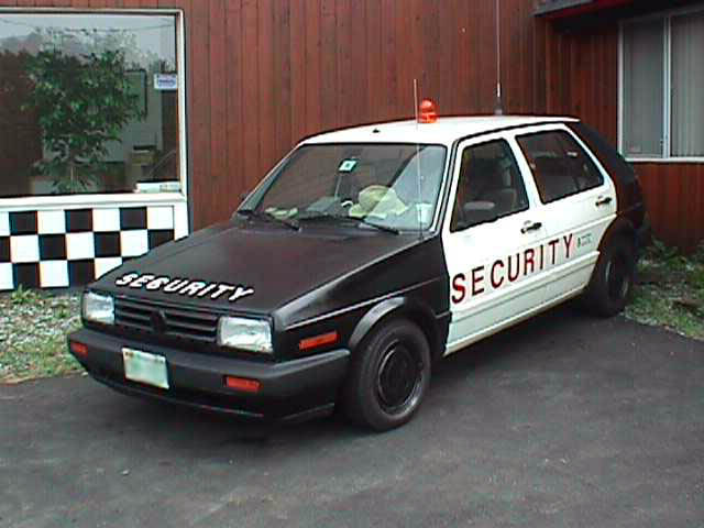 VW Insolite .... Security