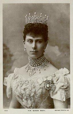 Mary, Princesa de Teck y George V. 1867%20Mary-10