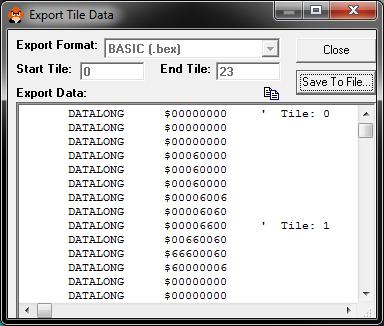 Programmer la SEGA Megadrive en Basic  SGTD-1-exportation