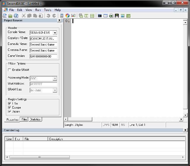 Programmer la SEGA Megadrive en Basic  Megadrive-sb-capture