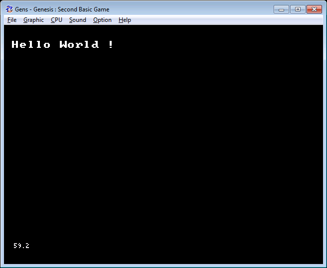 Programmer la SEGA Megadrive en Basic  Megadrive-sb-hello-world