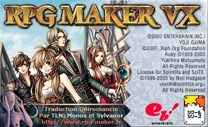 Rpg maker VX 1.02 (toute nouvelle version). En Français. Splash