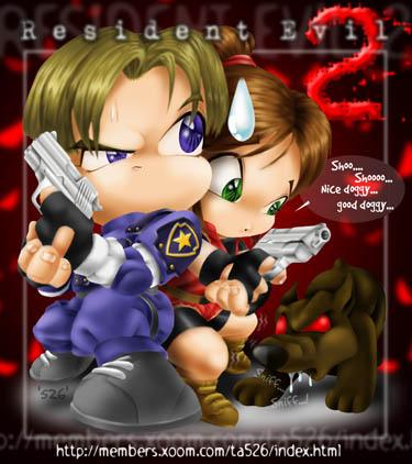 Resident Evil Fanarts Resevil2