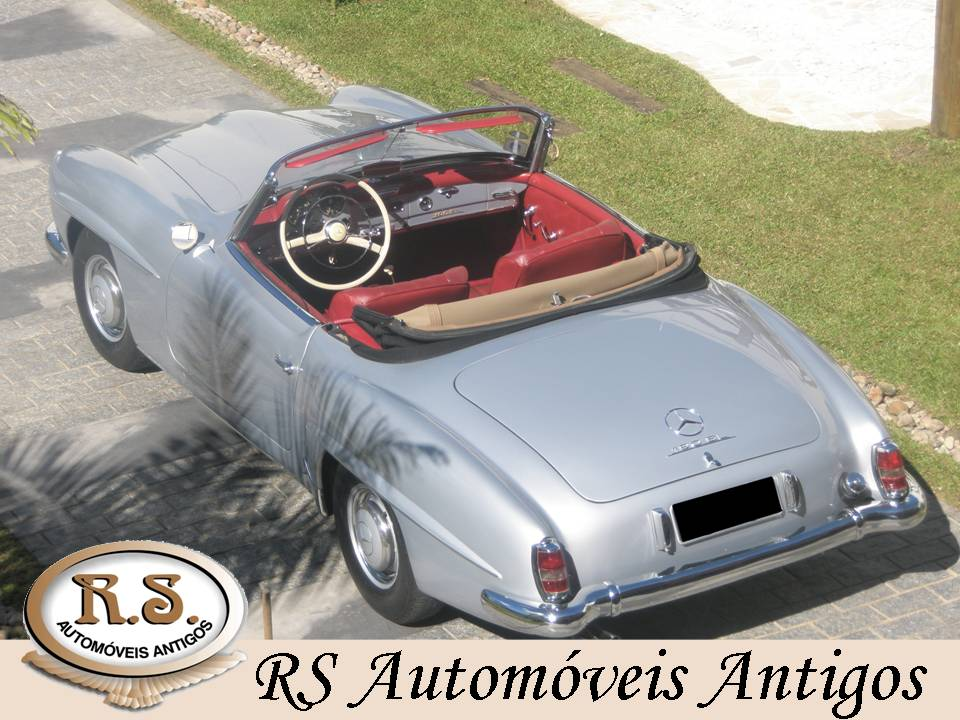 Mercedes SL 190 - 1956 - R$300 mil 20114111521363z