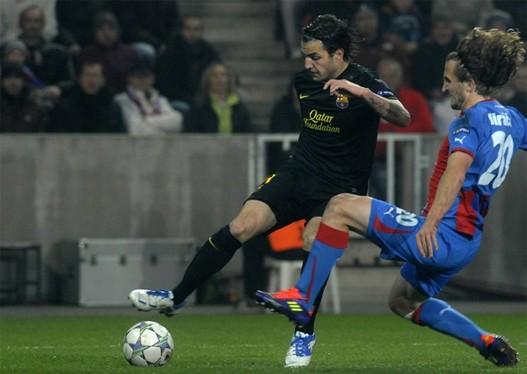 Liga Šampiona  Fabregas1