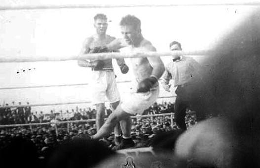 Legende boksa Bili-Miske-vs-Dzek-Dempsi