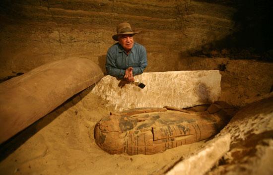 Halladas unas 50 momias en el valle de los Reyes de Egipto 1234377122281