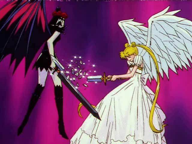 Sailor Moon 200 - L'AMOR DE LA BUNNY: LA LLUM QUE IL·LUMINA LA GALÀXIA 525112-7075120-Screencap%20Chaos%20vs%20Princess%20Serenity