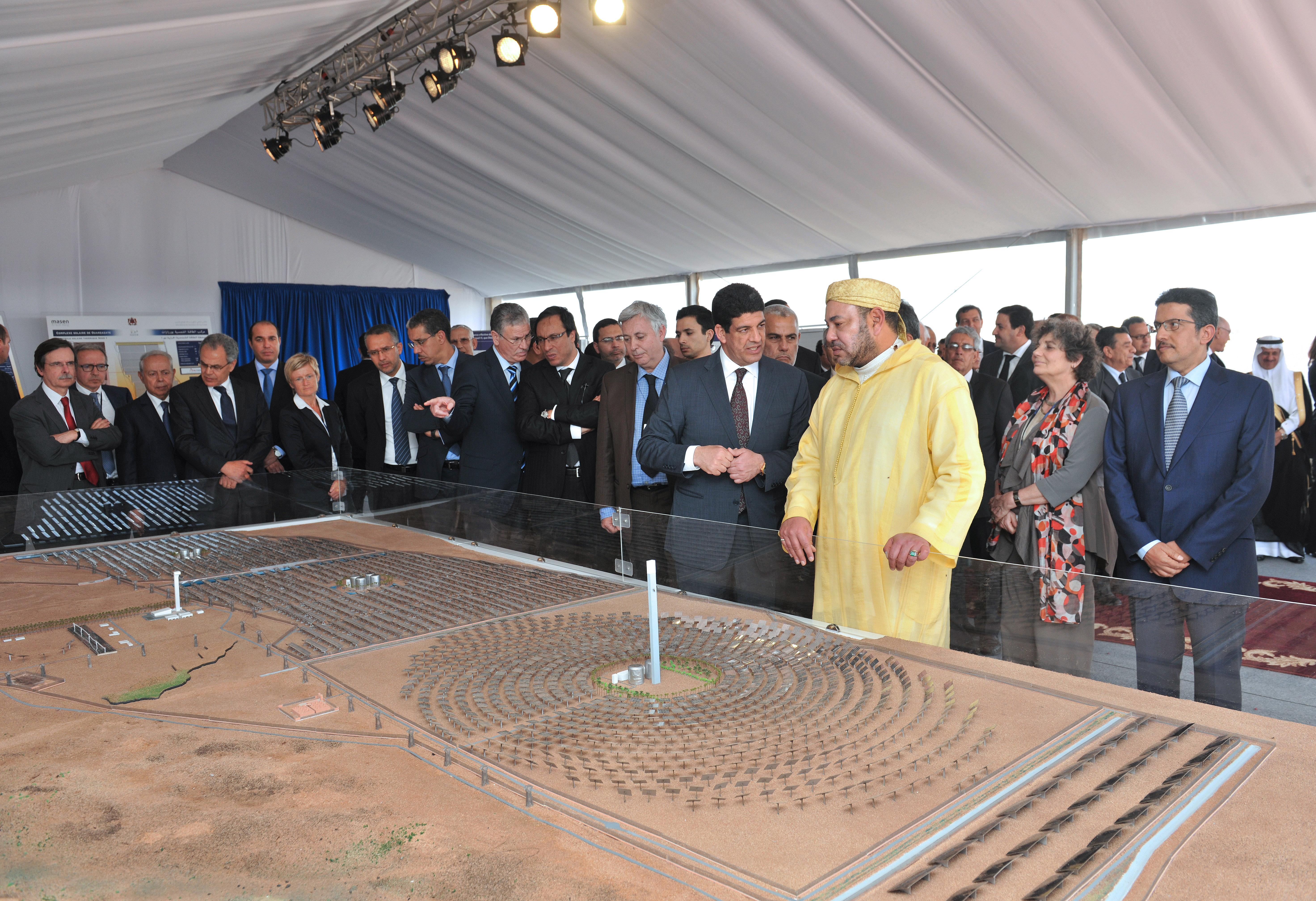 """شبكة الأخبار الأمريكية: المغرب في طريقه ليصبح """"قوة عظمى في قطاع الطاقة الشمسية"""" Az"""