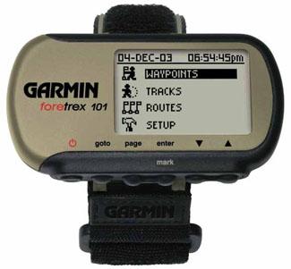 Utilisation d'un rangefinder FORETREX101-01