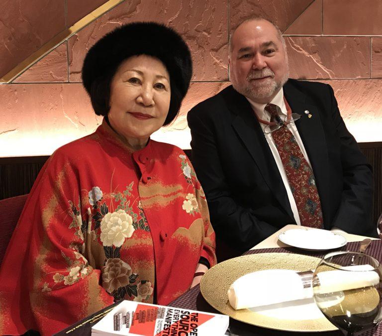 Robert David Steele Teams Up With Ben Fulford Princess-Nakamaru-with-Robert-Steele-768x675