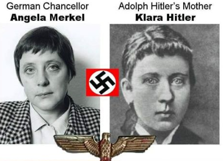 Will the Scamdemic flush out the Secret Space Force? Angela-and-hitlers-mother