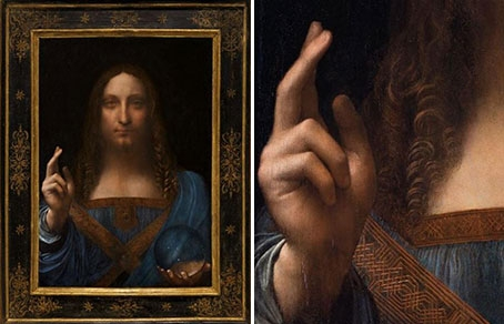 UPDATE ~ Salvator Mundi - Mystery surrounds $450M da Vinci painting 454-292-Savior_of_the_World