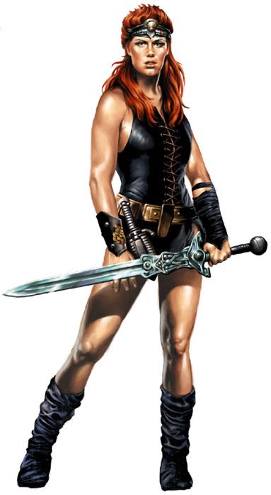 Kalidor, la légende du Talisman... Red-sonja