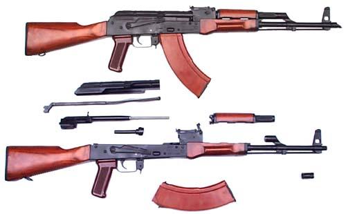 Armes d'Infanterie chez les FAR / Moroccan Small Arms Inventory - Page 5 Akm_parts