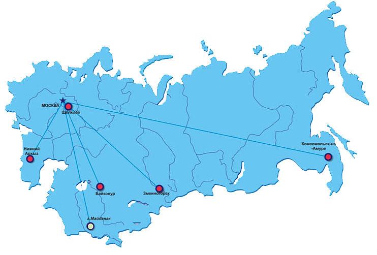Transmission de données par laser depuis le segment russe de l'ISS Network_map_1
