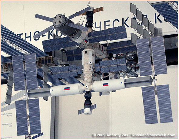 Poutine confirme l'engagement de la Russie pour l'ISS Iss_rs_scale_2009_1