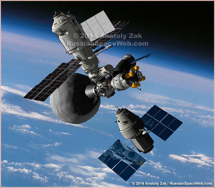La Russie envisage de créer une nouvelle station orbitale en 2017 Oka_docking_1