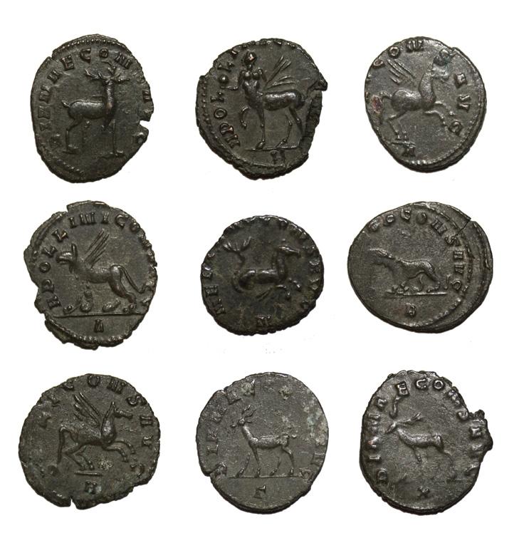 monnaies romaines Bestiairegallien