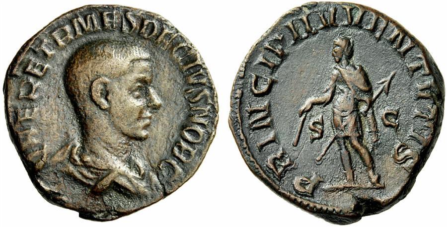 monnaies romaines Herennius-etruscus-prince-dela-jeunesse