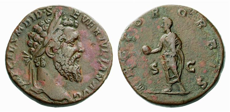 monnaies romaines Sesterce-dide-julien-rector-orbis